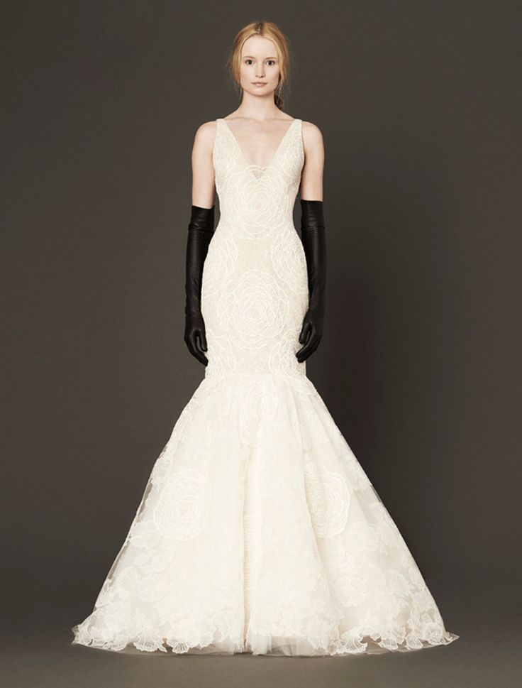 Mermaid Wedding Dresses : Vera Wang Macy Discount Designer Wedding ...