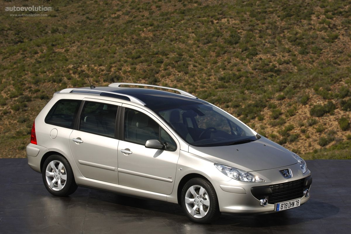 Peugeot 307 Sw Autos Coches Vehiculos