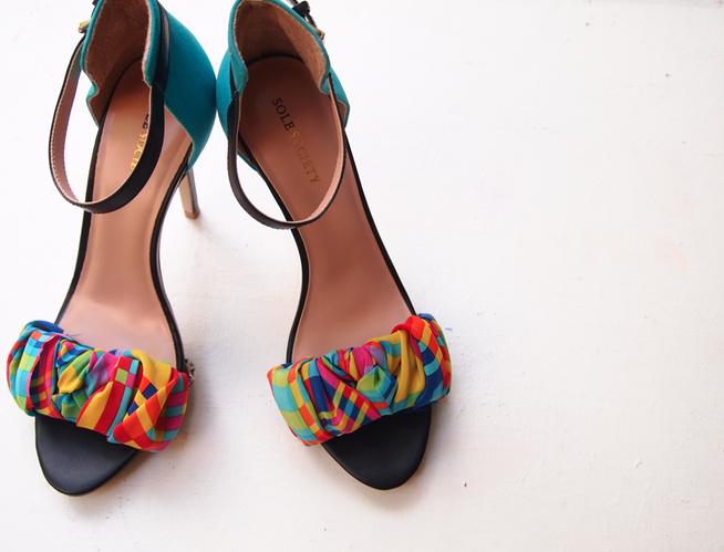 Glitter N Glue DIY Wrap Sandal DETAIL