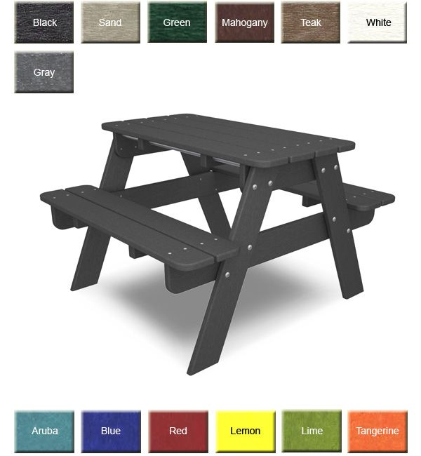 Polywood Children S Picnic Table Kids Picnic Table Picnic