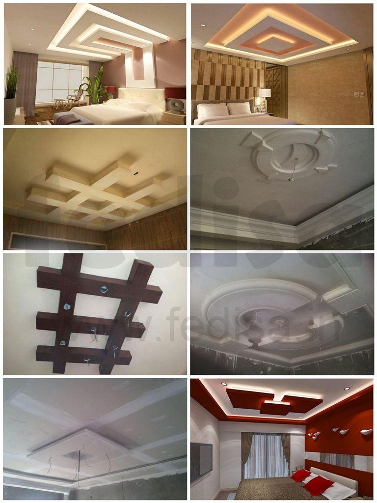 Master bedroom gypsum ceiling  False Ceiling  Gypsum Board   Gulam Rasool  Pinterest  Ceilings