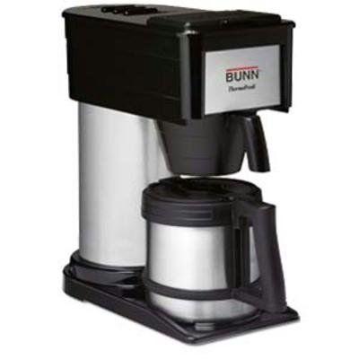sale bunn btx 10 cup thermal carafe coffee maker drip coffee maker coffee brewer coffee. Black Bedroom Furniture Sets. Home Design Ideas