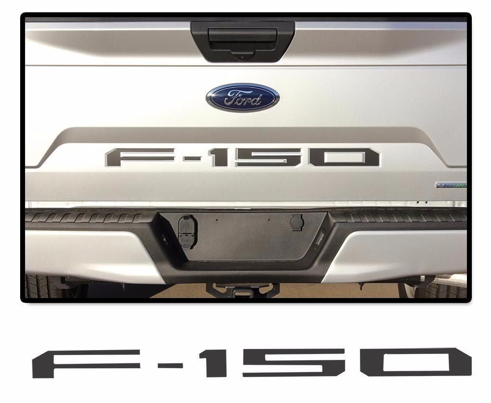 2018 Ford F 150 Speedway Inlay Text Lead Foot Stripes Decals Vinyl