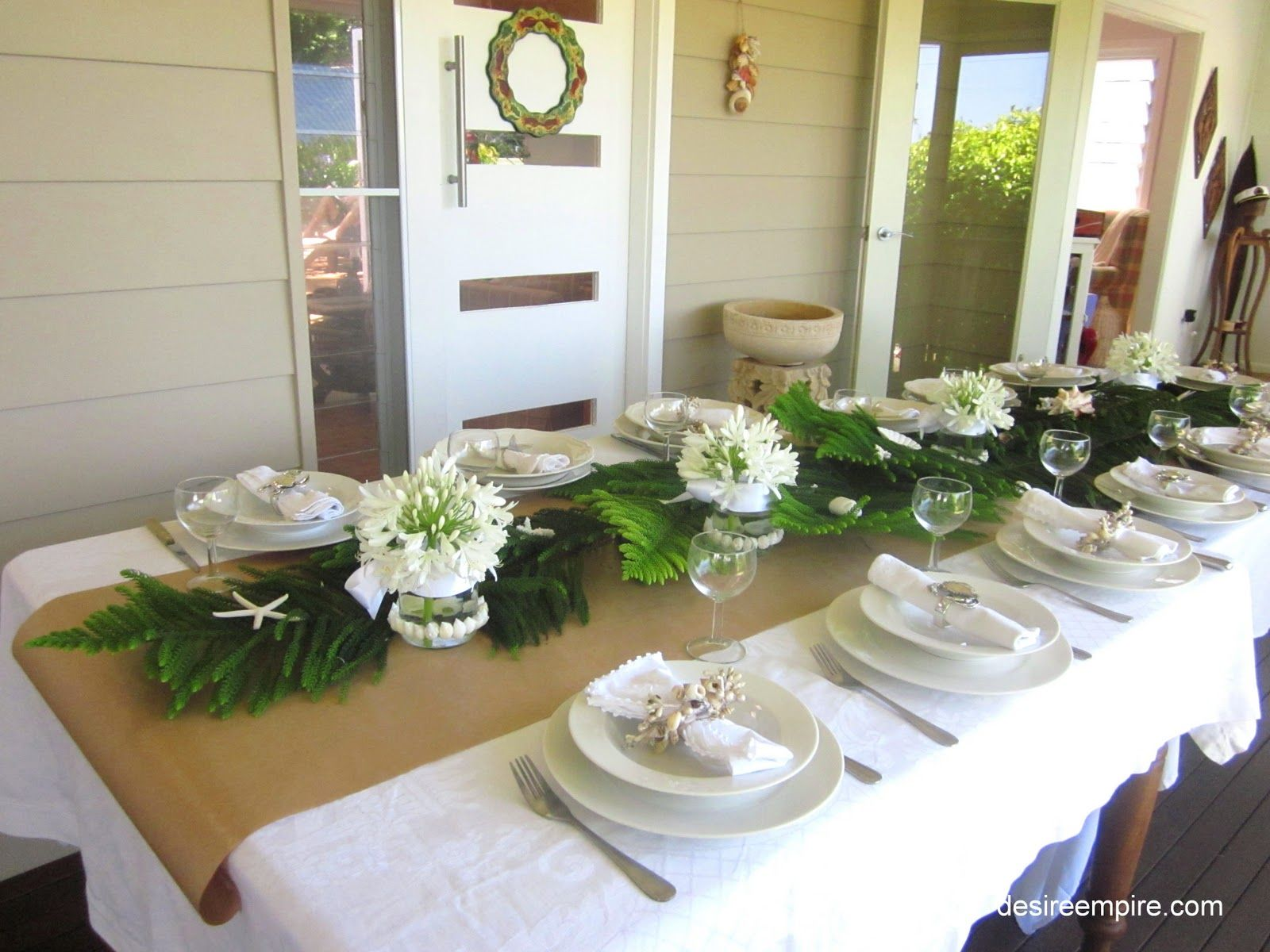 Whitecoastaltablescape11g 16001200 pixels christmas coastal table in white and on an ikea budget junglespirit Image collections