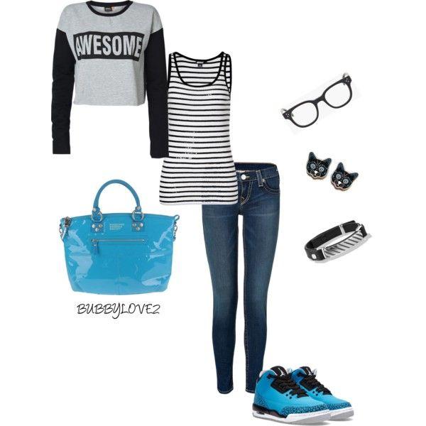jordan 3 powder blue outfit