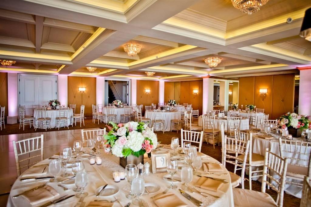Lovely Wedding Reception Verandah Ballroom At La Valencia Hotel In