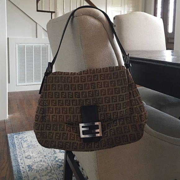 Fendi Monogram Hobo Bag
