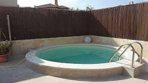 Bildergebnis f r rundpool terrasse pool schwimmteich for Intex pool aktion