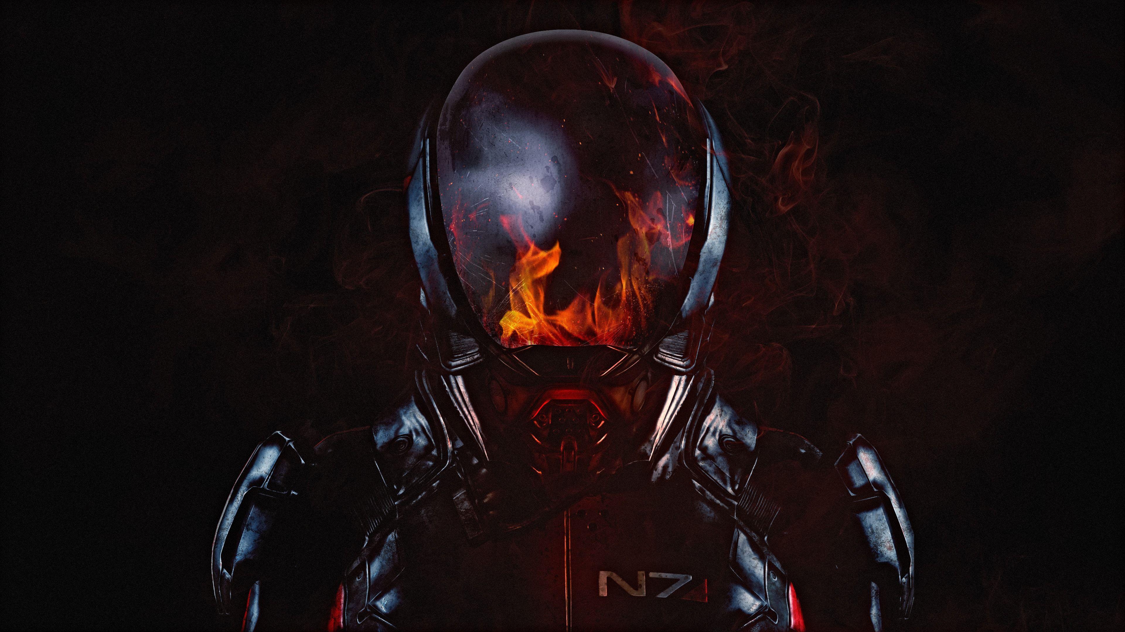 Armor Mass Effect Andromeda Game Mass Effect Hd Wallpaper Mass