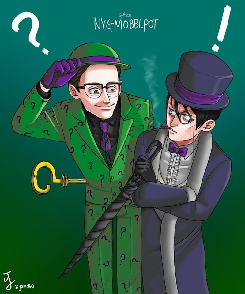 Pin by makca39 on Batman Gotham cast, Riddler, Edward