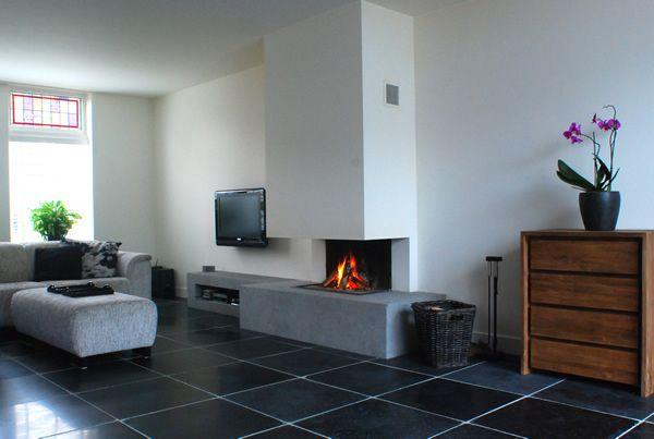 Woonkamer in Hillegom - LIFS * LIVING ROOMS | Pinterest - Badkamer