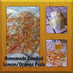 Candied Lemon Peel Allrecipes.com