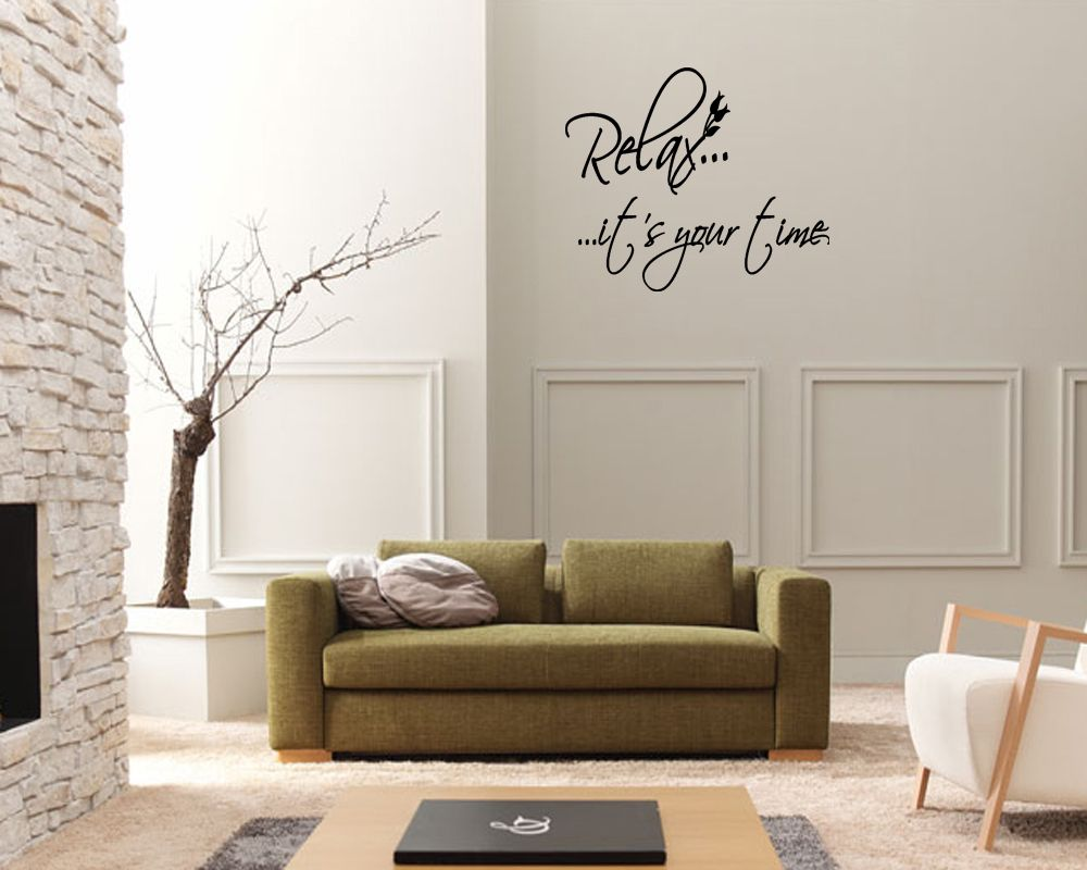 Time bathroom vinyl wall art stickers decal quote ebay sticker