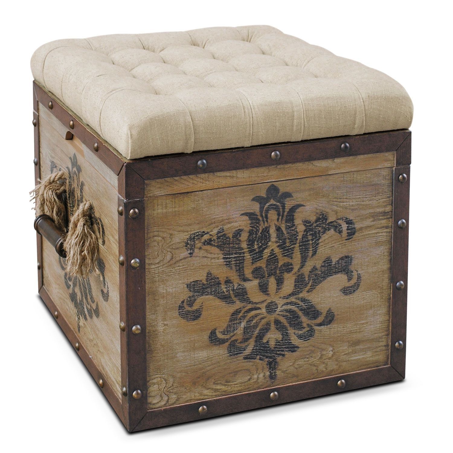 Prime Accent And Occasional Furniture Teca Storage Cube Ottoman Pabps2019 Chair Design Images Pabps2019Com