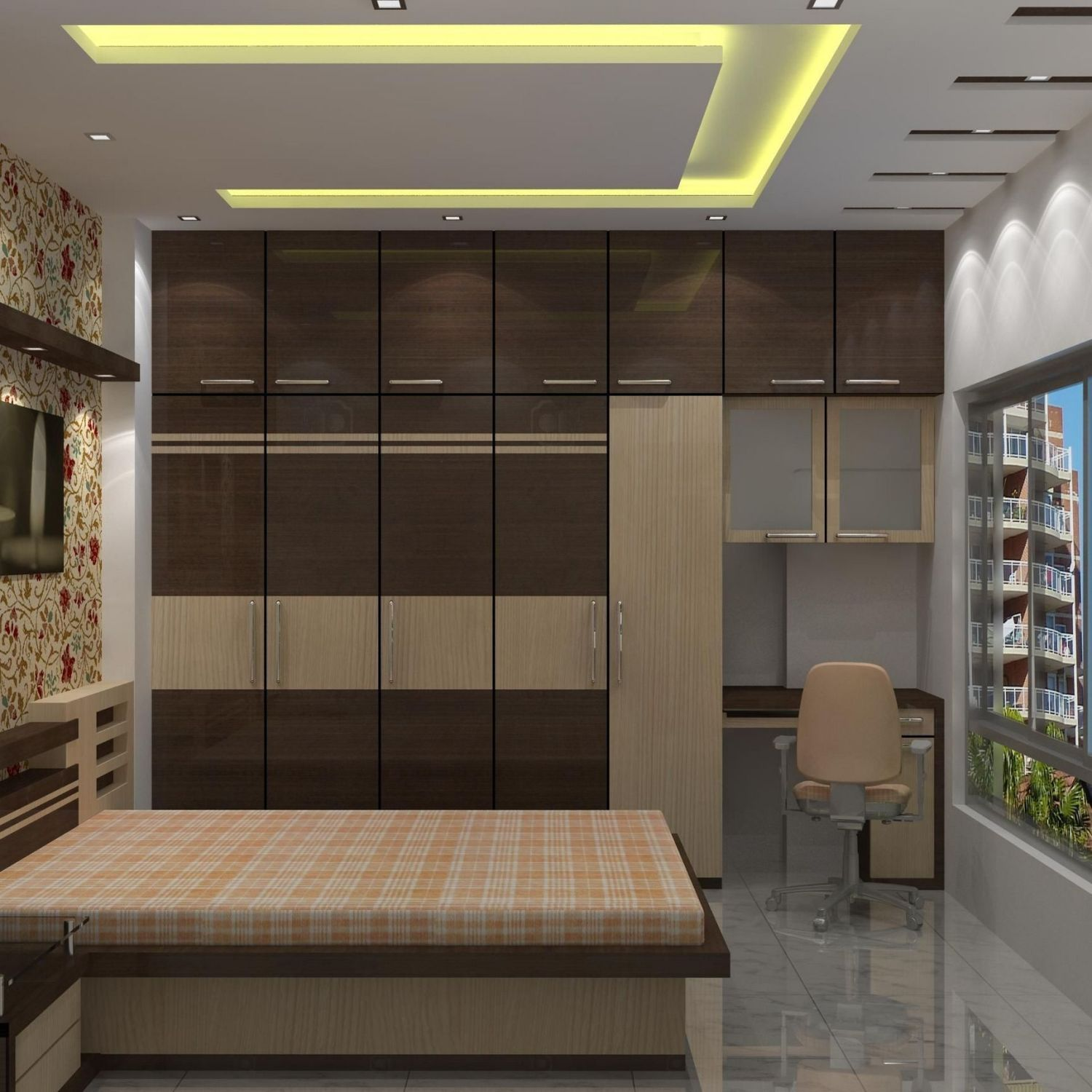 32 Top Choices Of False Ceiling Design For Bedroom Modern