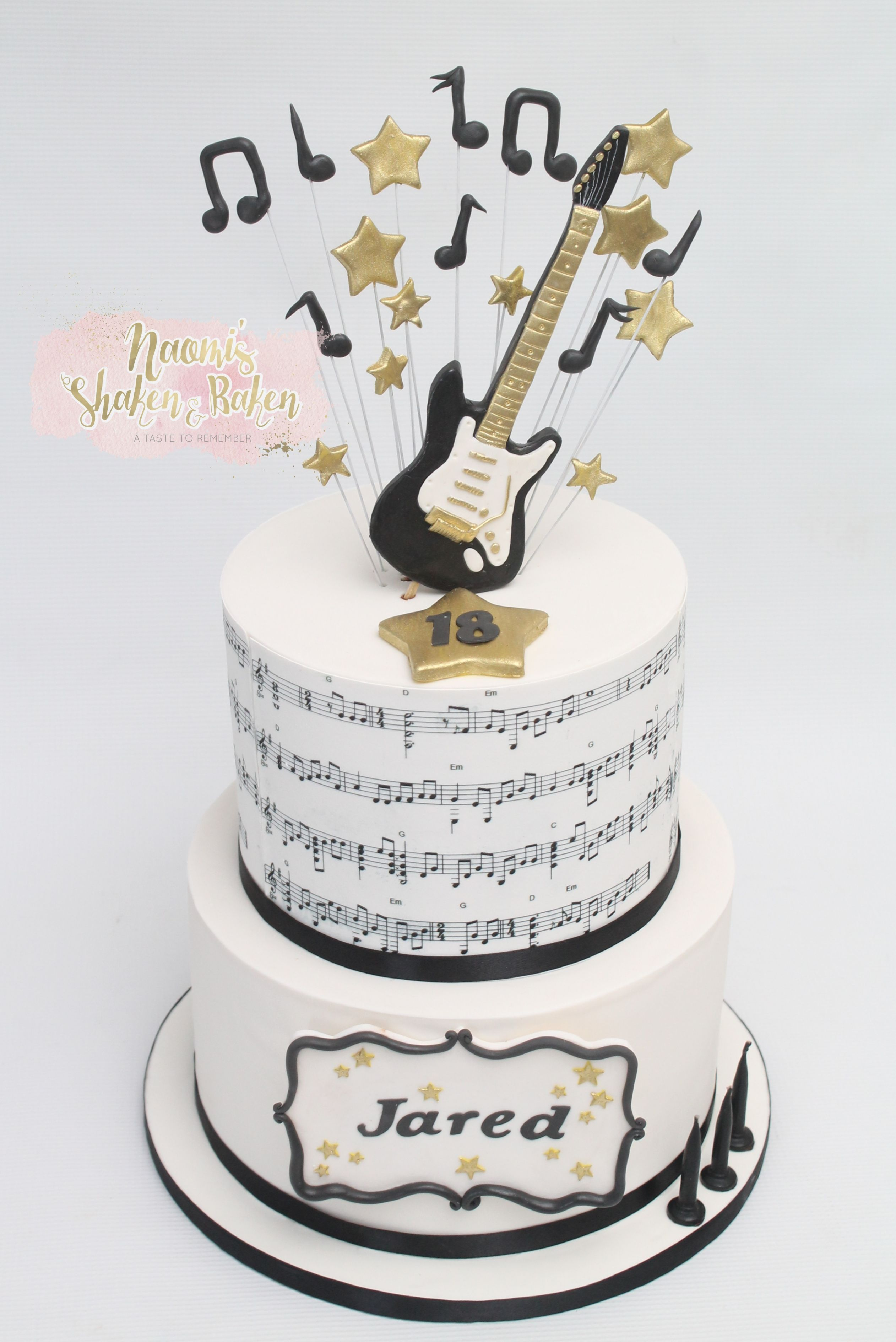 Music Lover in 2020   Special occasion cakes, Occasion ...