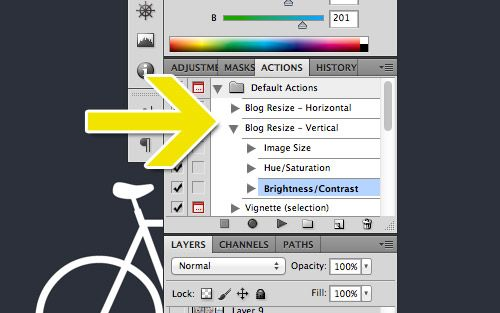 Photoshop-ing tips from  Young House Love