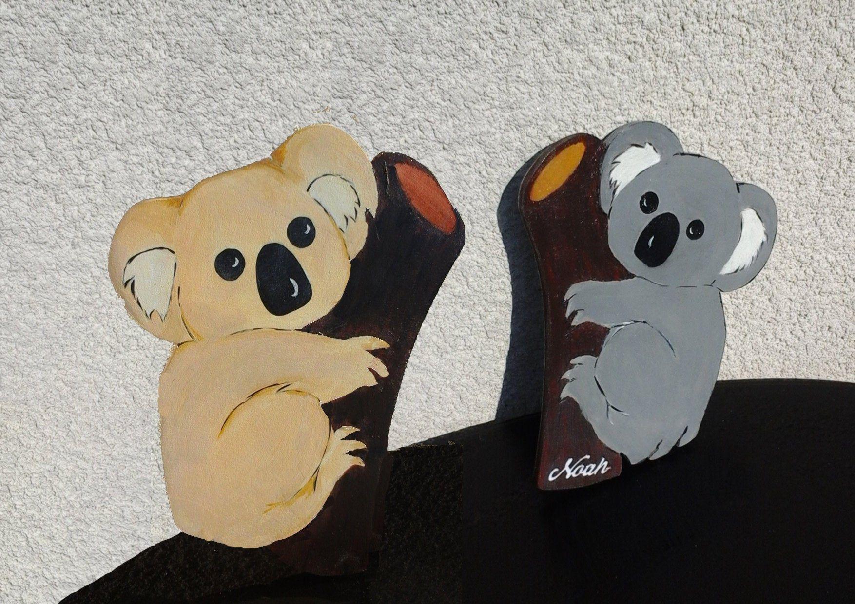 Scooby doo personnalisé en bois porte plaque