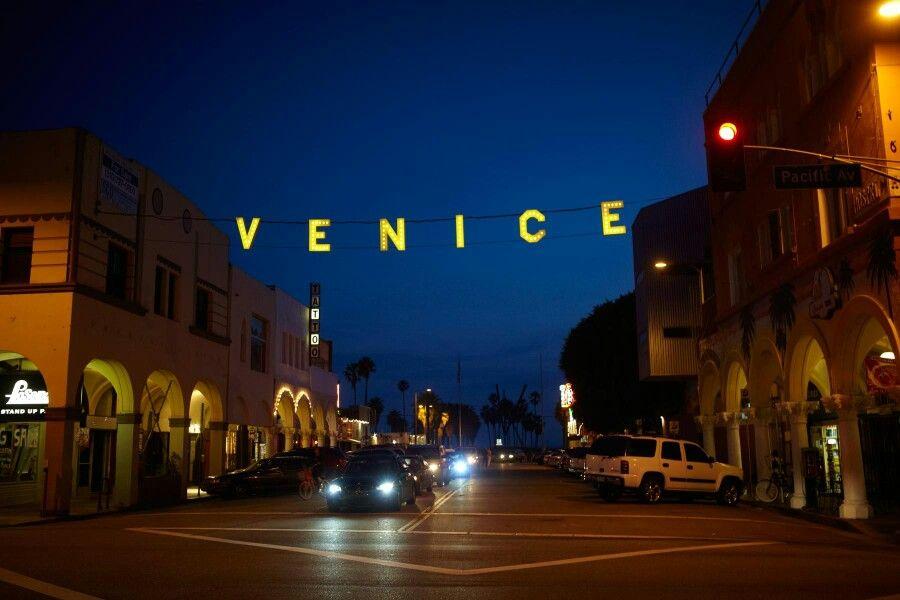 Historic Venice Beach Sign