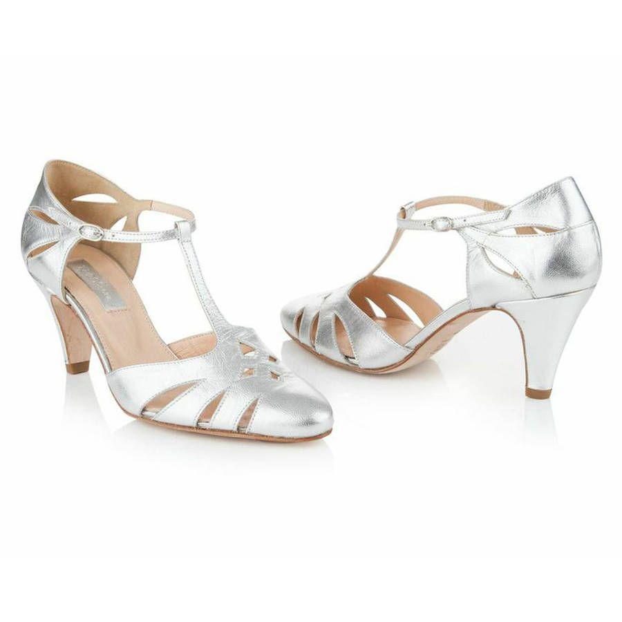 Jasmine Antique Leather Wedding Shoes Leather Wedding Shoes