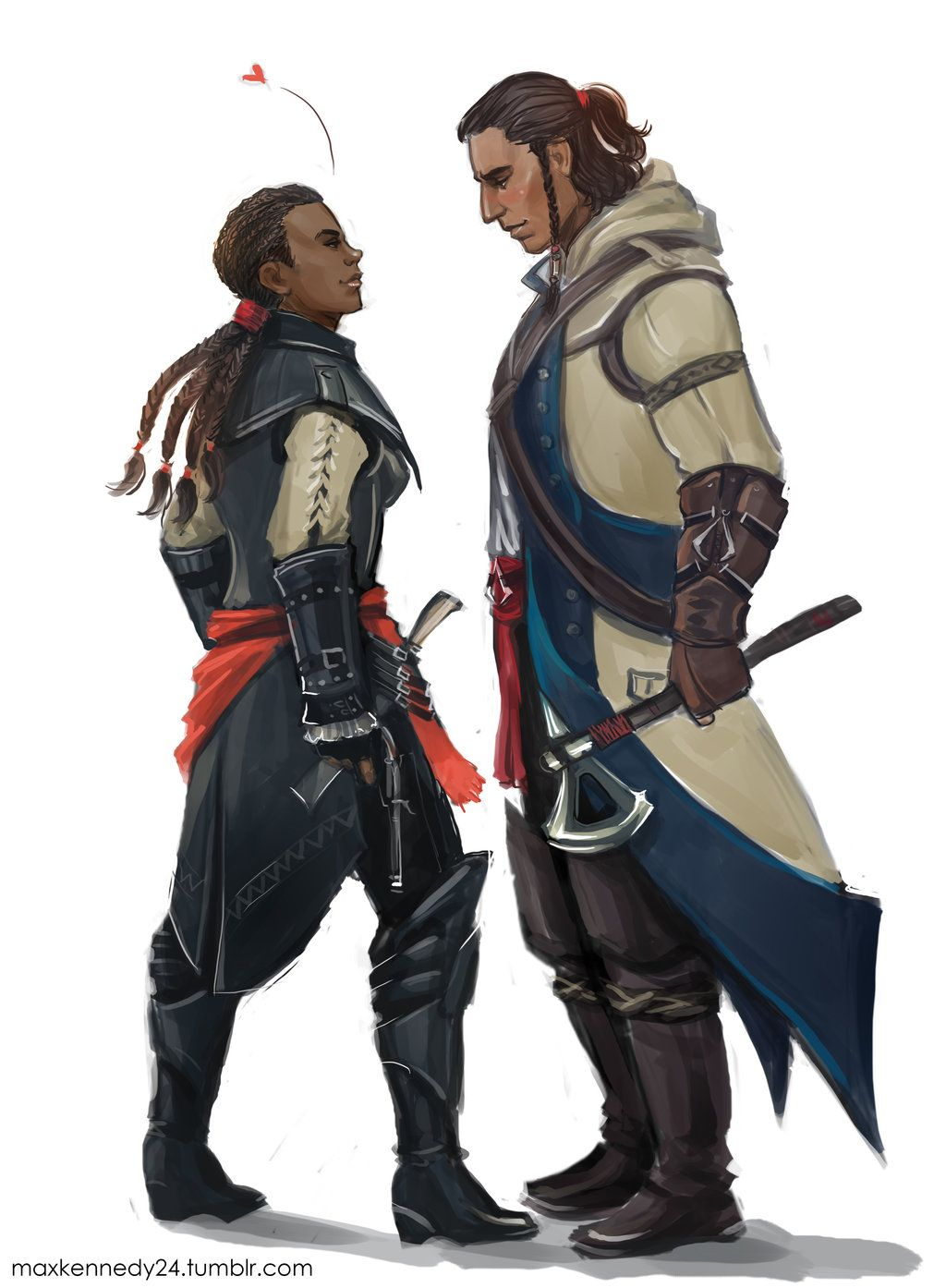 Assassin S Creed 3 Connor X Aveline By Maxkennedy On Deviantart