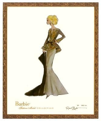 Capucine Limited Edition Barbie Print By Robert Best