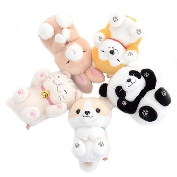 Dokodemo Nekkorogari Tai Animal Plush Collection Standard Dolls
