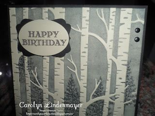 Carolyn's Card Creations: December 2015