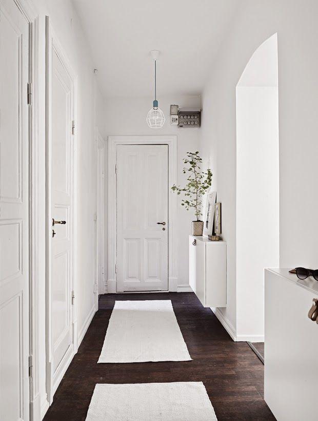Weiß vergrößert Räume auf wunderschöne Weise