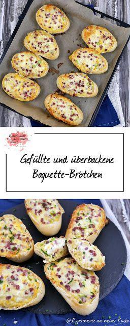 Gefüllte Baguette-Brötchen - Experimente aus meiner Küche #photosites