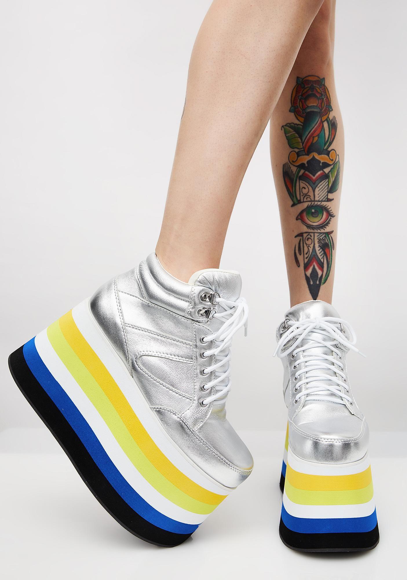 2d99f5aa162 Shellys London Dema Platform Sneakers