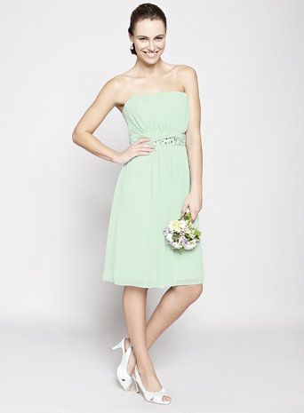 Mint Daisy Short Bridesmaid Dress | Bridesmaid Ideas | Pinterest