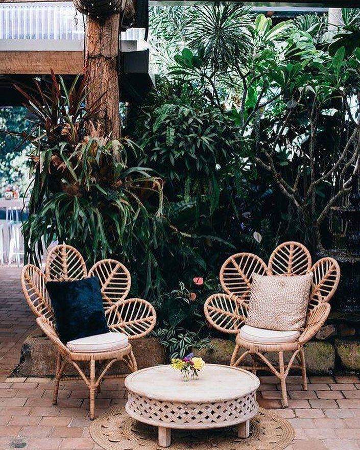 Cute Outdoor Chair And Table Industrial Interior Style Decor