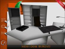 Mesh desk bureau Full Perm