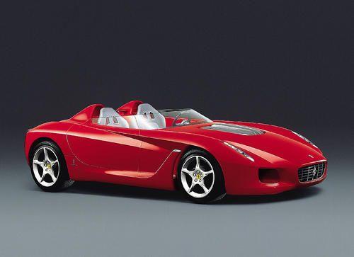 Pininfarina Ferrari Rossa 2000 Concept Spider