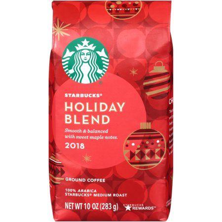 Food in 2020   Starbucks holiday blend, Starbucks, Blended ...