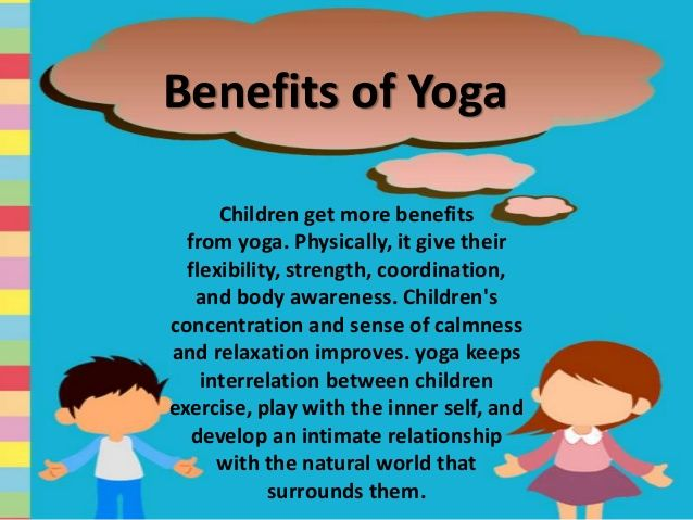 Image Result For Benefits Of Yoga Children