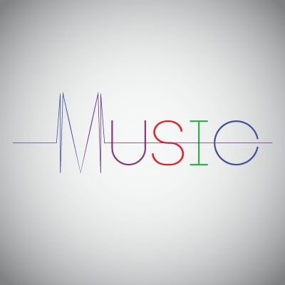 Logo of the day for music :) quick idea that I came up with :)