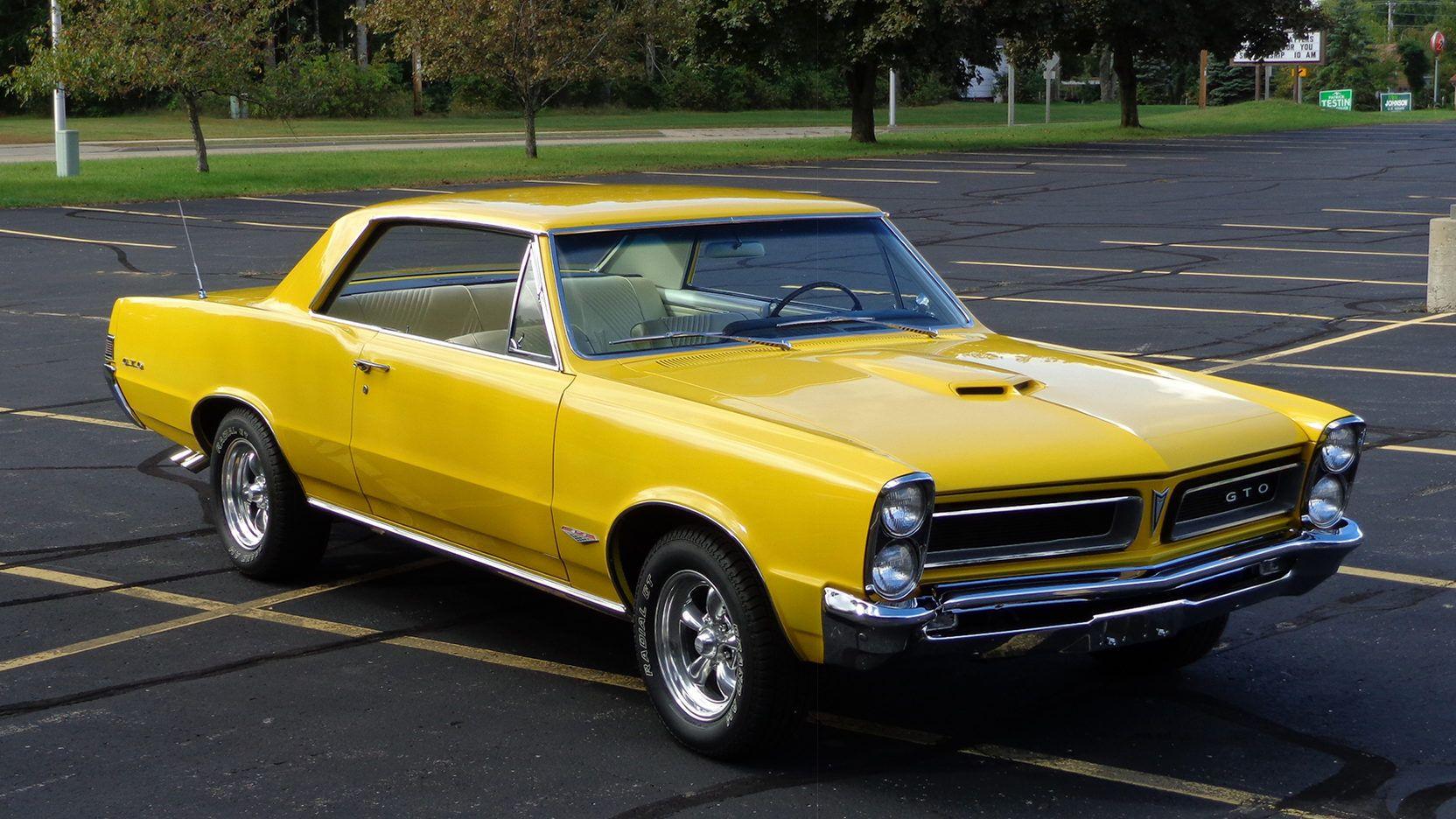 1965 Pontiac Gto 455 Tri Power 4 Speed 3 55 Positraction Rear 1965 Pontiac Gto Pontiac Gto Gto