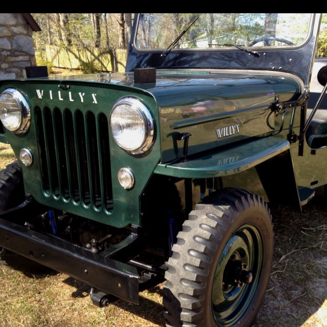 1953 Willys Jeep Original Metallic Green Paint Willys Jeep Vintage Jeep Jeep