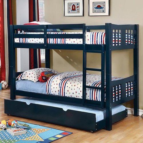 Felix Twin Over Twin Bunk Bed Beliche Para Quarto Pequeno