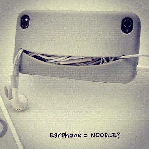 earphone = noodle