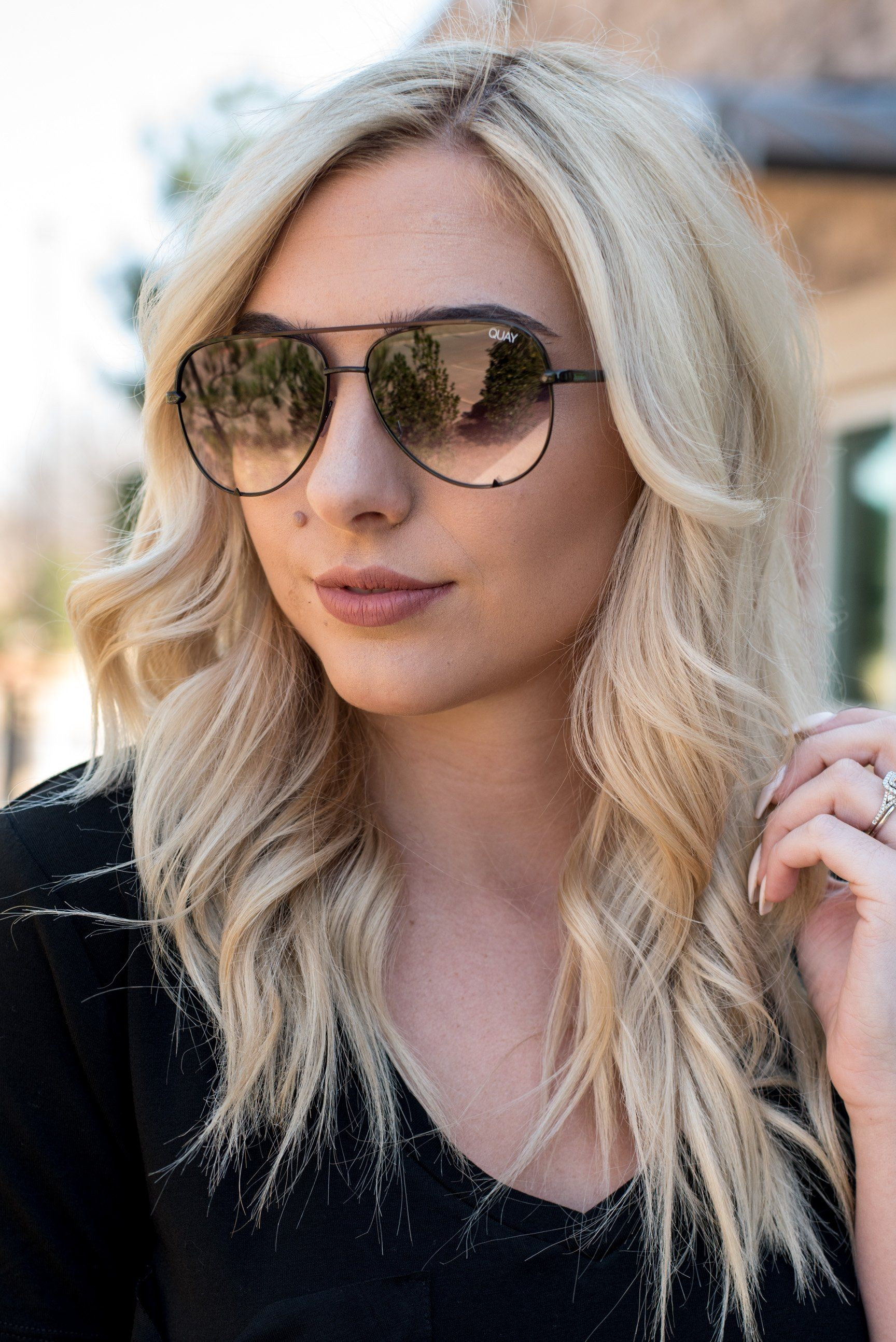 d2fb622b02 Quay High Key MINI sunglasses black smoke fade in 2019
