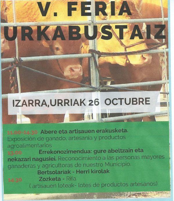 V Feria Urkabustaiz-Izarra