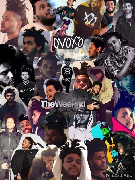 The weeknd tumblr collage buscar con google the weeknd - Drake collage wallpaper ...