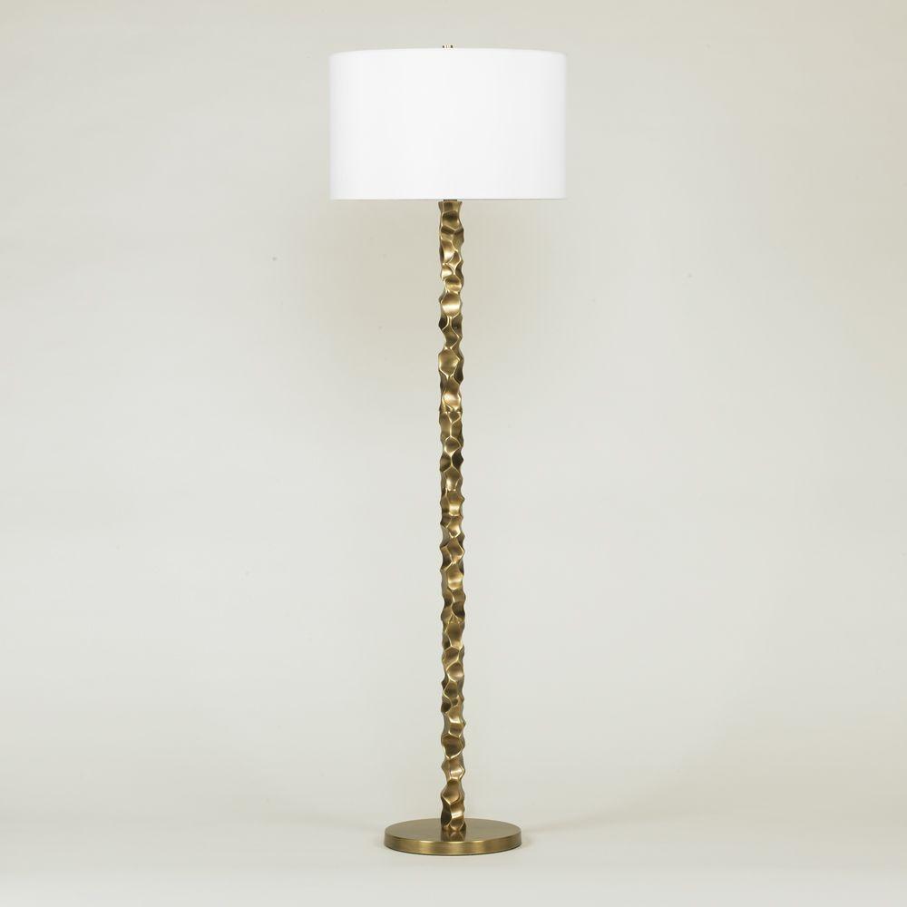 Living Room Lamp - Liam Floor Lamp: Substitute Black Shade | Domerie ...
