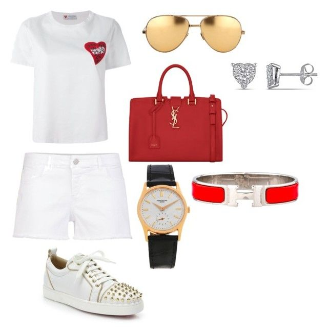 """When In Doubt Wear Red"" by brookpark on Polyvore"