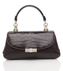 Judith Leiber Nabila Crocodile Shoulder Bag