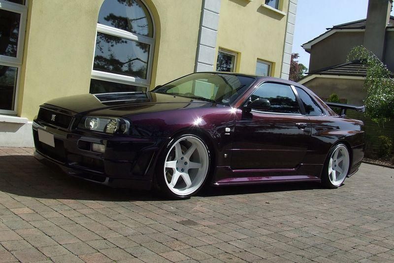 R34 GTR Midnight Purple Skylines & GTRs Pinterest