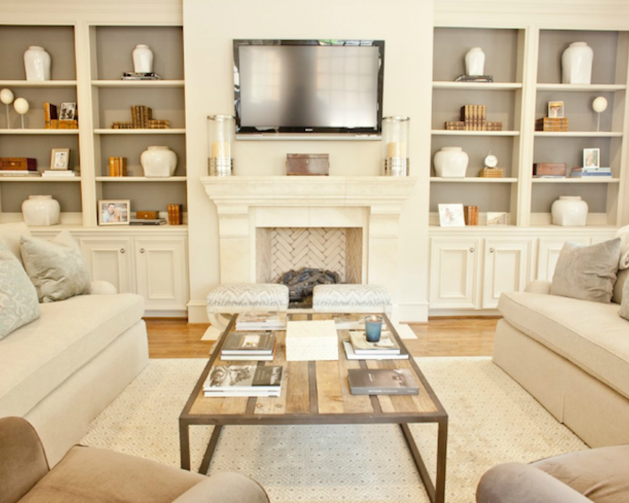 room-ivory-cream-walls-paint-colors-living-room-tv-over-fireplace ...